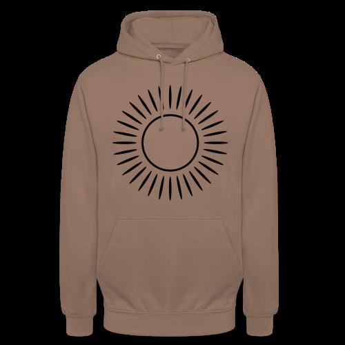Sonne mit Strahlen Shirt - Unisex Hoodie
