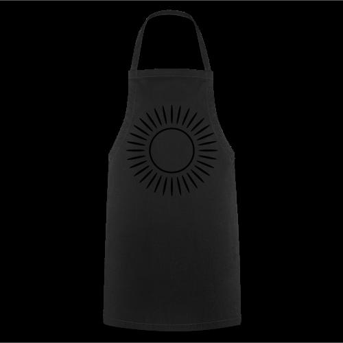 Sonne mit Strahlen Shirt - Kochschürze