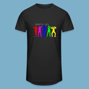 Dance Party Motiv - Männer Urban Longshirt