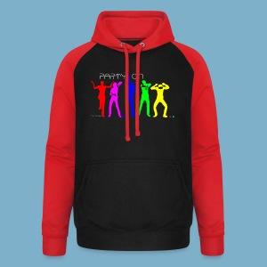 Dance Party Motiv - Unisex Baseball Hoodie