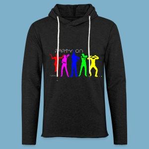 Dance Party Motiv - Leichtes Kapuzensweatshirt Unisex