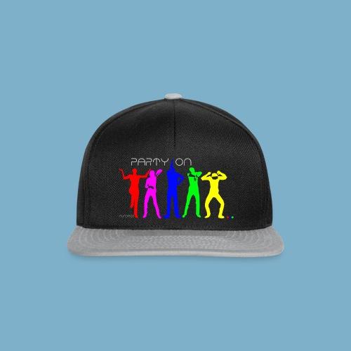Dance Party Motiv - Snapback Cap