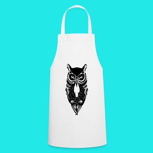 Owl T-shirt  - Cooking Apron