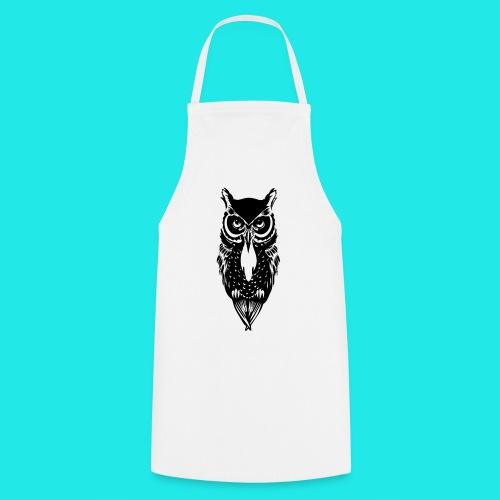 Owl T-shirt  - Cooking Apron