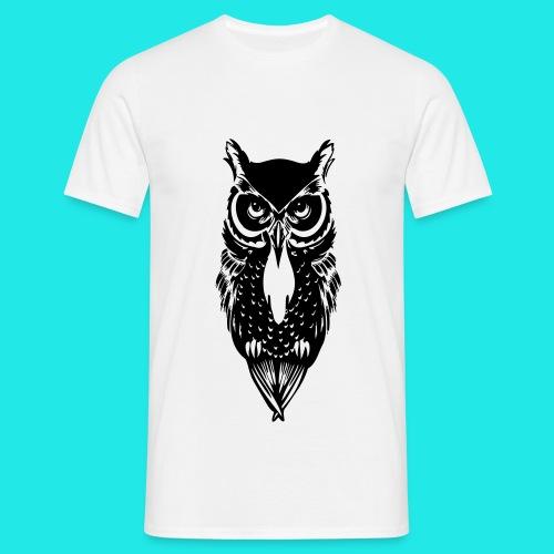 Owl T-shirt  - Men's T-Shirt