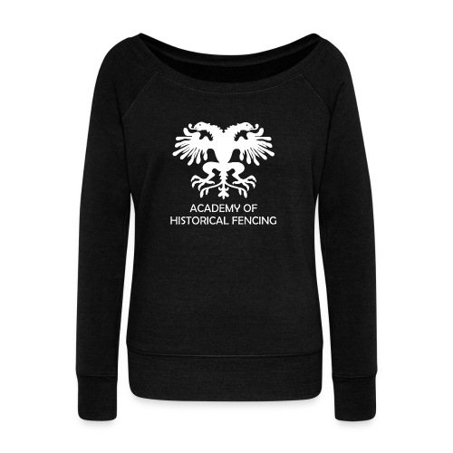 AHF Club Mug - Women's Boat Neck Long Sleeve Top