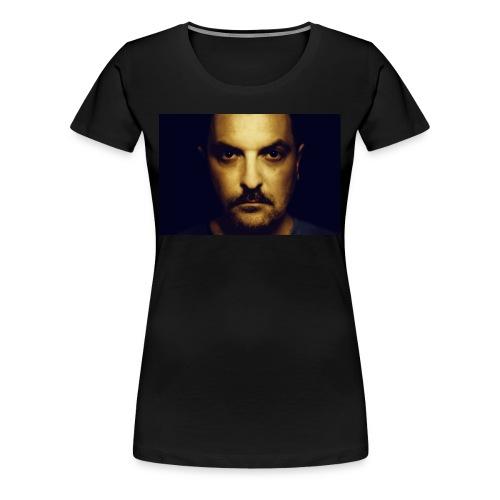 Mann in Gold - Frauen Premium T-Shirt