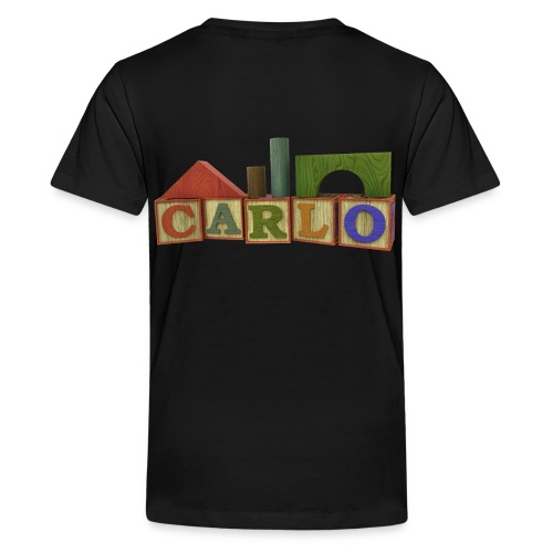 Carlo - Teenager Premium T-Shirt