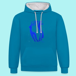Spanish Dance for marimba solo - Contrast Colour Hoodie