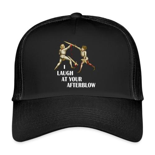 Premium 'I laugh at your afterblow' man's t-shirt - Trucker Cap