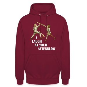 Premium 'I laugh at your afterblow' man's t-shirt - Unisex Hoodie