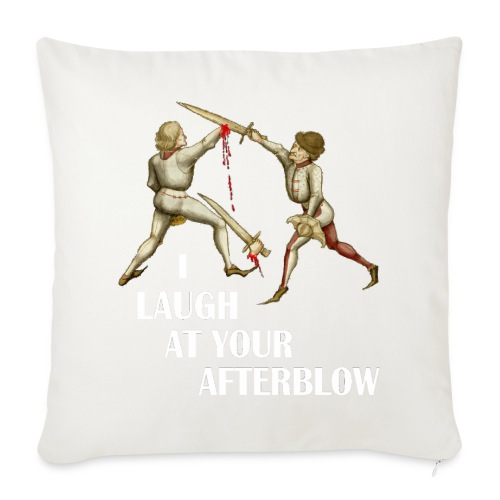 Premium 'I laugh at your afterblow' man's t-shirt - Sofa pillow cover 44 x 44 cm