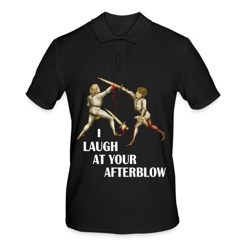 Premium 'I laugh at your afterblow' man's t-shirt - Men's Polo Shirt
