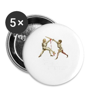 Premium 'I laugh at your afterblow' man's t-shirt - Buttons medium 32 mm