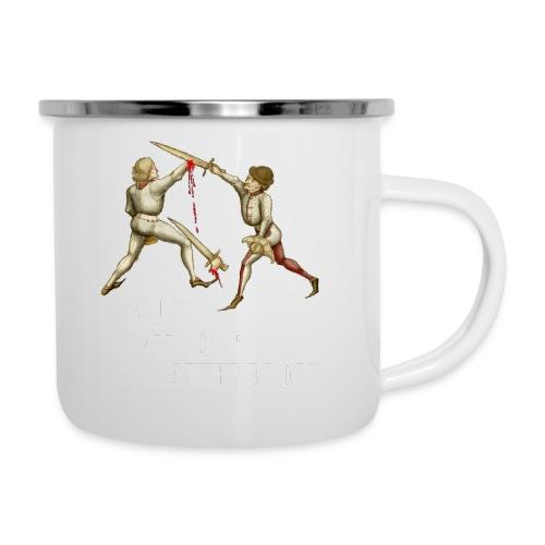 Premium 'I laugh at your afterblow' man's t-shirt - Camper Mug