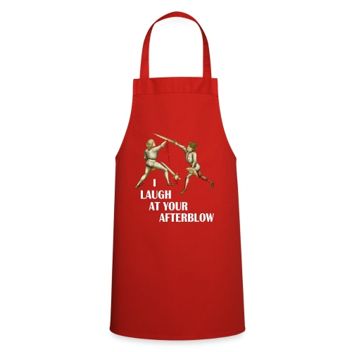 Premium 'I laugh at your afterblow' man's t-shirt - Cooking Apron
