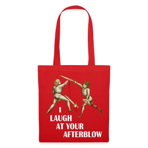 Premium 'I laugh at your afterblow' man's t-shirt - Tote Bag