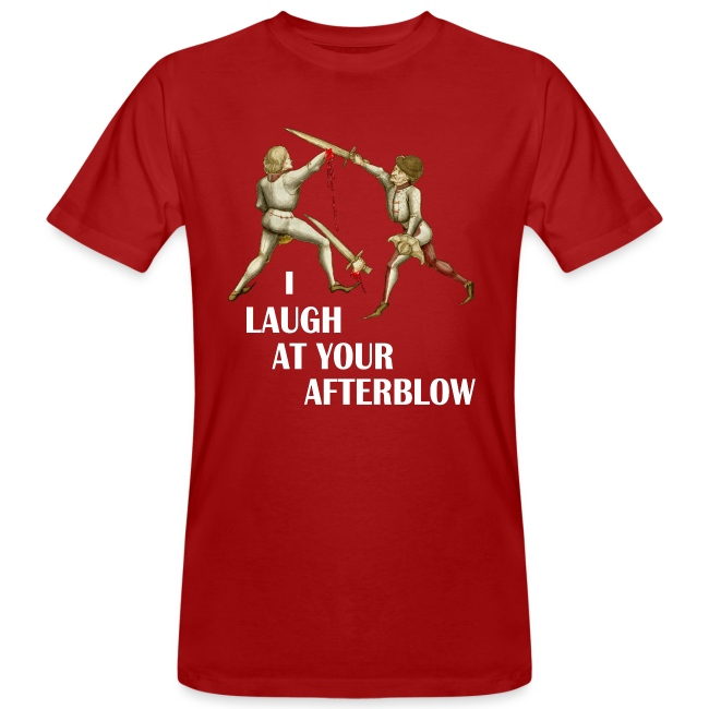 Premium 'I laugh at your afterblow' man's t-shirt