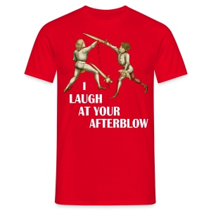 Premium 'I laugh at your afterblow' man's t-shirt - Men's T-Shirt