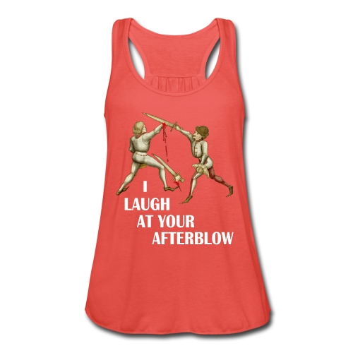 Premium 'I laugh at your afterblow' man's t-shirt - Women's Tank Top by Bella
