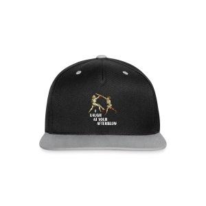 Premium 'I laugh at your afterblow' man's t-shirt - Contrast Snapback Cap