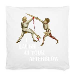Premium 'I laugh at your afterblow' man's t-shirt - Pillowcase 40 x 40 cm