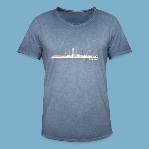 Duisburg Skyline - Männer Vintage T-Shirt