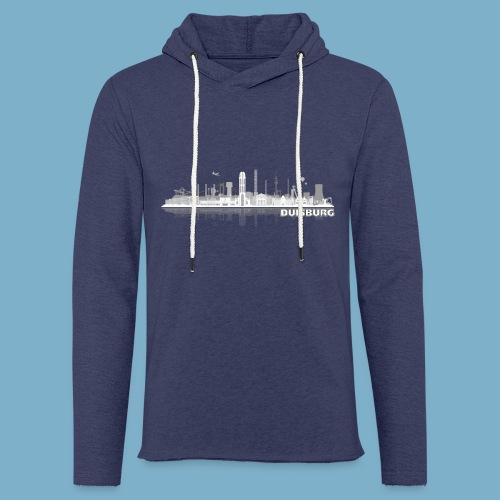Duisburg Skyline - Leichtes Kapuzensweatshirt Unisex