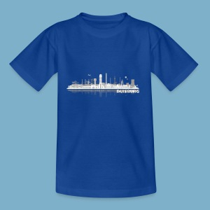 Duisburg Skyline - Teenager T-Shirt