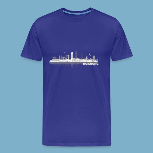 Duisburg Skyline - Männer Premium T-Shirt