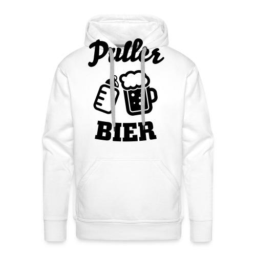 Puller Bier Langarmshirts - Männer Premium Hoodie