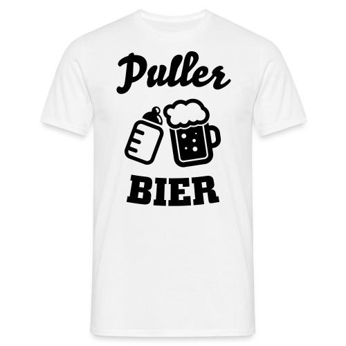 Puller Bier Langarmshirts - Männer T-Shirt
