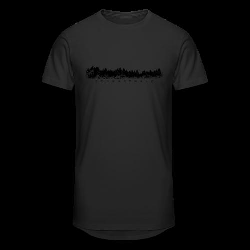 Schwarzwald S-5XL T-Shirt - Männer Urban Longshirt