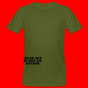 Reflex for safety! - Økologisk T-skjorte for menn