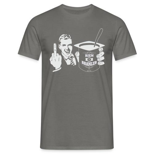 Tshirt RAB col V Since 1988 - T-shirt Homme