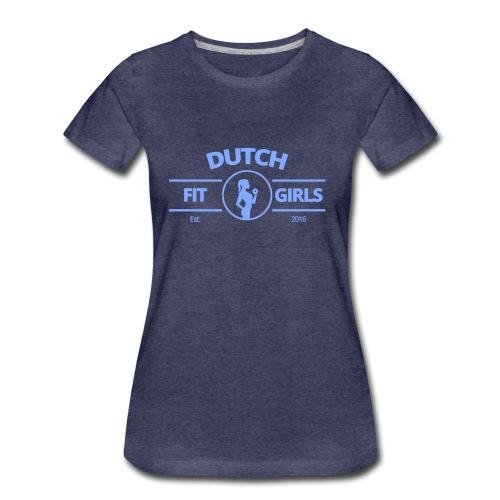 T-SHIRT - Logo Blauw - Diverse kleuren - Vrouwen Premium T-shirt