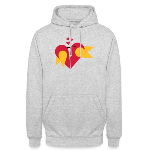 Loving heart, Valentin day T-Shirts - Unisex Hoodie