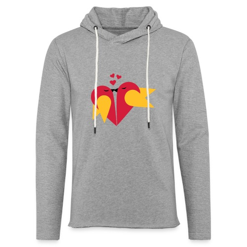 Loving heart, Valentin day T-Shirts - Leichtes Kapuzensweatshirt Unisex
