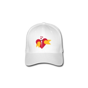 Loving heart, Valentin day T-Shirts - Flexfit Baseballkappe