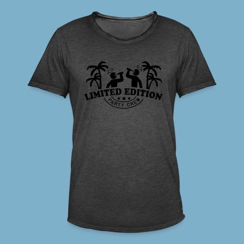 Party Crew - Männer Vintage T-Shirt