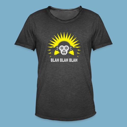 Blah Blah Blad - Männer Vintage T-Shirt