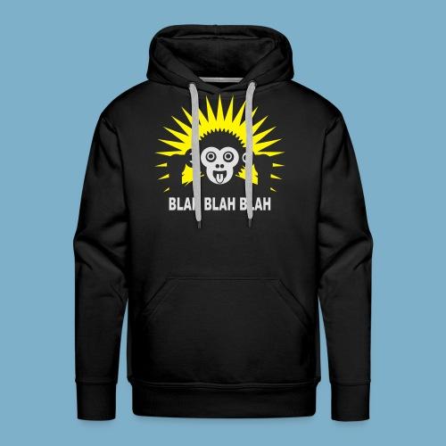 Blah Blah Blad - Männer Premium Hoodie