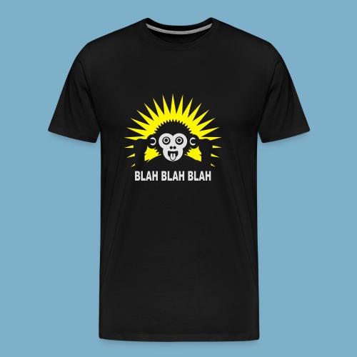 Blah Blah Blad - Männer Premium T-Shirt