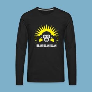 Blah Blah Blad - Männer Premium Langarmshirt