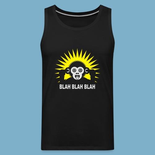 Blah Blah Blad - Männer Premium Tank Top