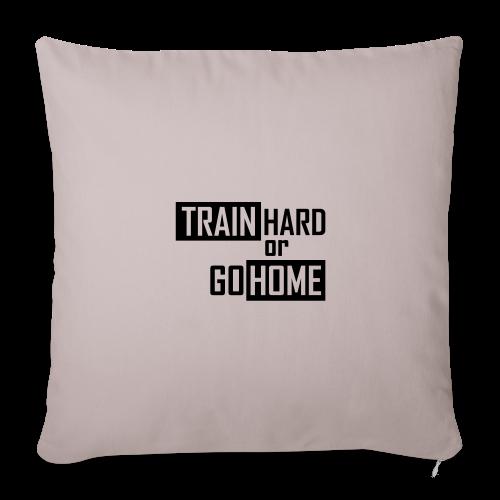 Train hard Beenie - Sofakissenbezug 44 x 44 cm