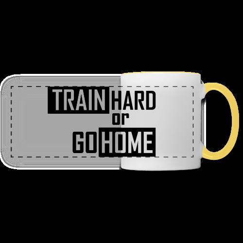 Train hard Beenie - Panoramatasse