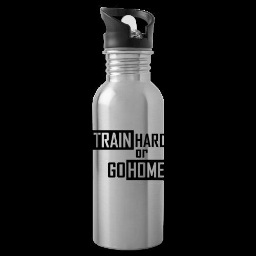 Train hard Beenie - Trinkflasche