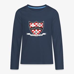 Zondagamateurs Logo Groot Kids Premium - Teenager Premium shirt met lange mouwen