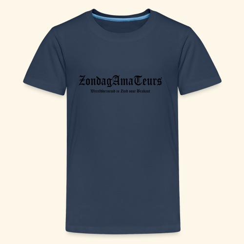 Zondagamateurs premium kids shirt - Teenager Premium T-shirt